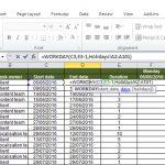 Create an auto-updating Gantt chart in Excel: part 2