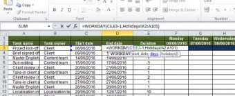 Create an auto-updating Gantt chart in Excel: part 2