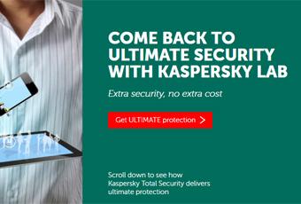 Kaspersky's customer experience
