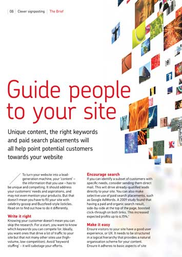 How to get customers to your website | Royal Mail